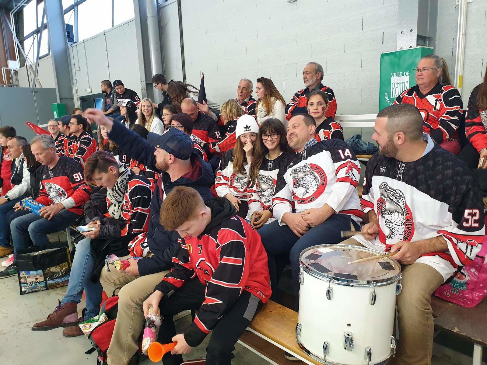 Prédateurs contre Reims : les supporters sont prêts !
