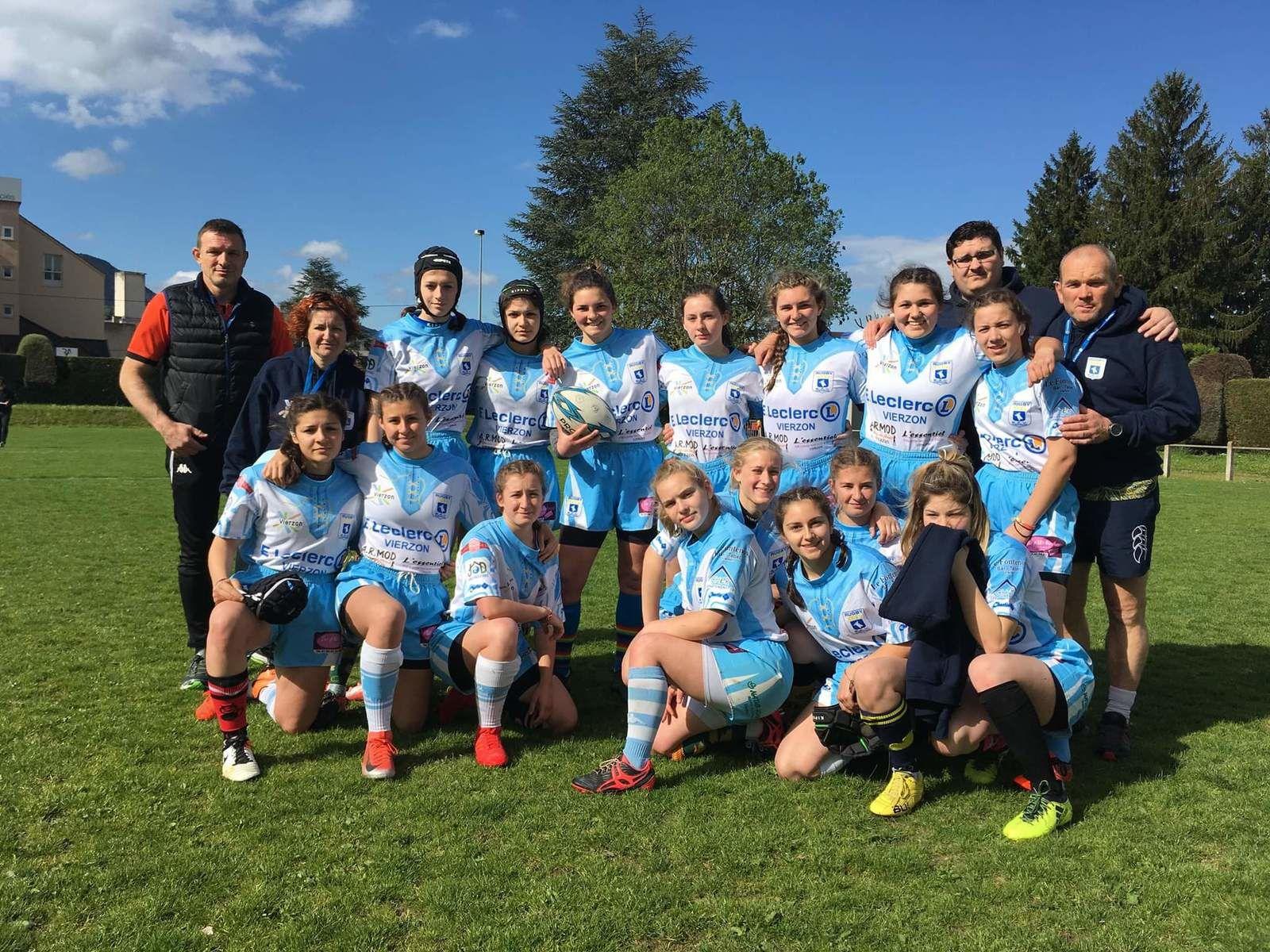 Bravo aux Vaillantes pour leur parcours en championnat de France de rugby des lycées