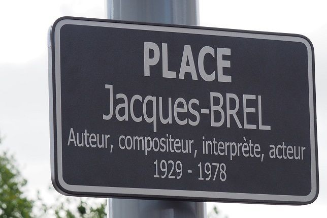 Place Jacques Brel : merci... à nous !