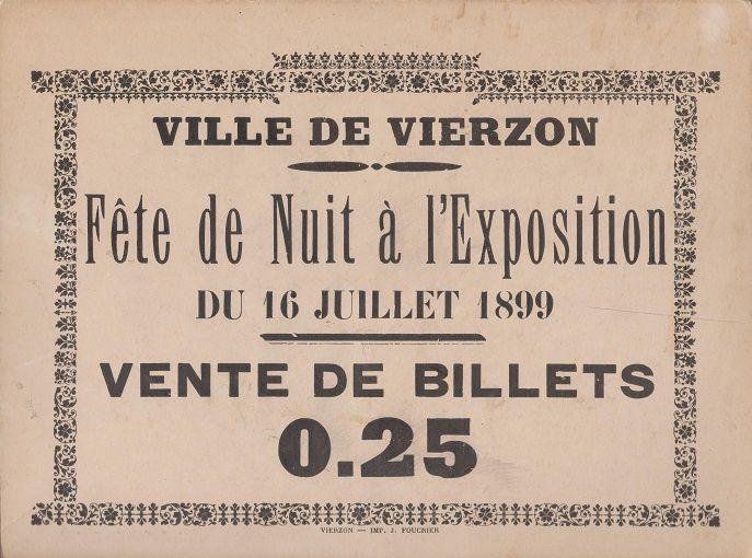La foire exposition de Vierzon à travers le temps