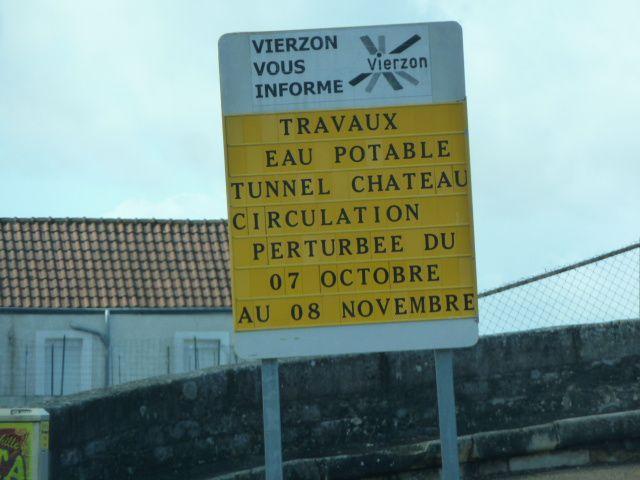 Travaux à Tunnel Château : circulation perturbée pendant un mois