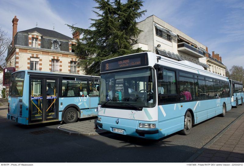Bus gratuits : le P.C de Bourges le veut, celui de Vierzon non