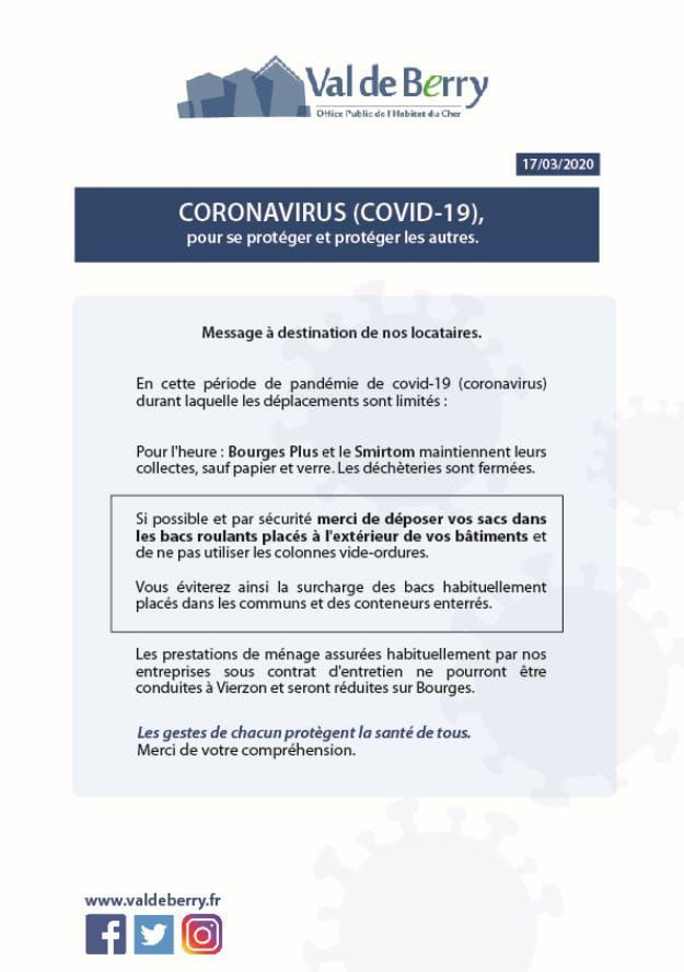 Coronavirus : et pour les locataires, ça se passe comment ?