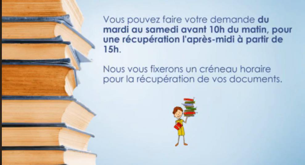 La médiathèque propose un drive de livres à partir du 24 avril