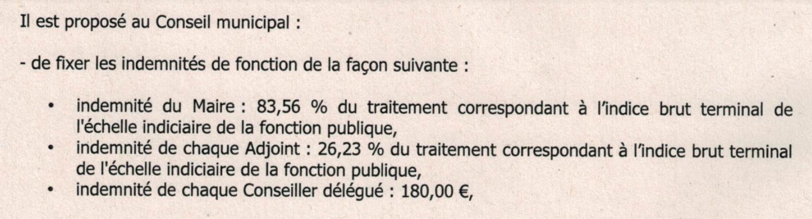 Les indemnités des élus de la communauté de communes de Vierzon