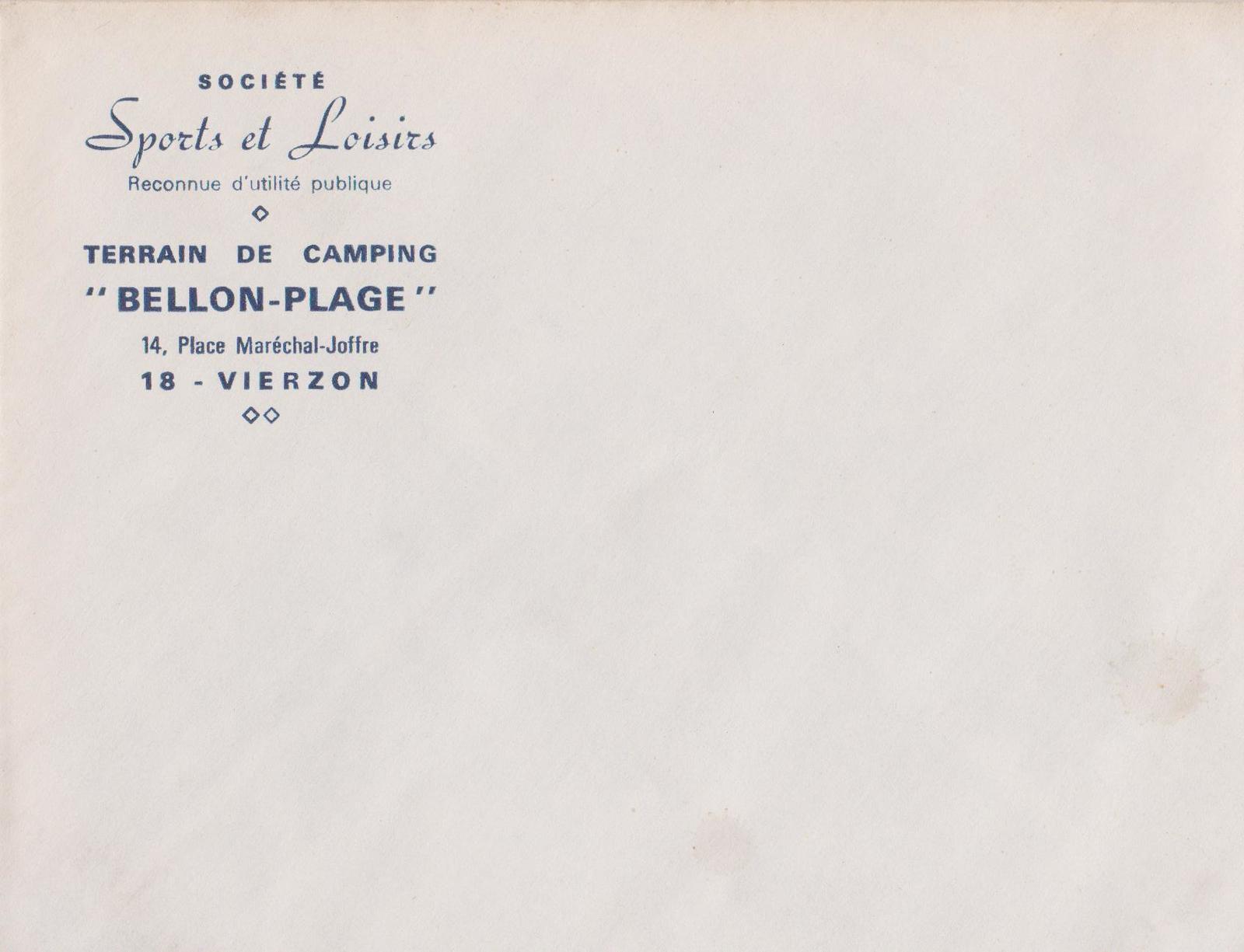 Publicités anciennes et cartes de visites de Vierzon