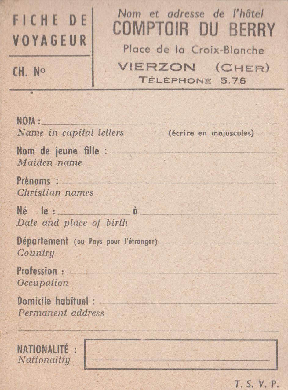 Encore des anciennes publicités de Vierzon !