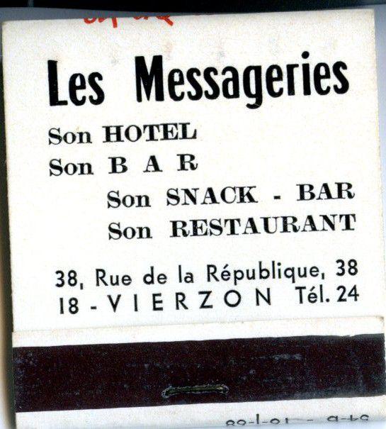 Publicités anciennes de commerces vierzonnais