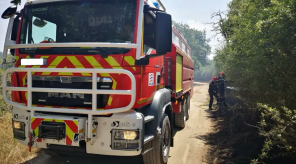 Rétrospective des pompiers des événements de juillet 2020 dans le Cher