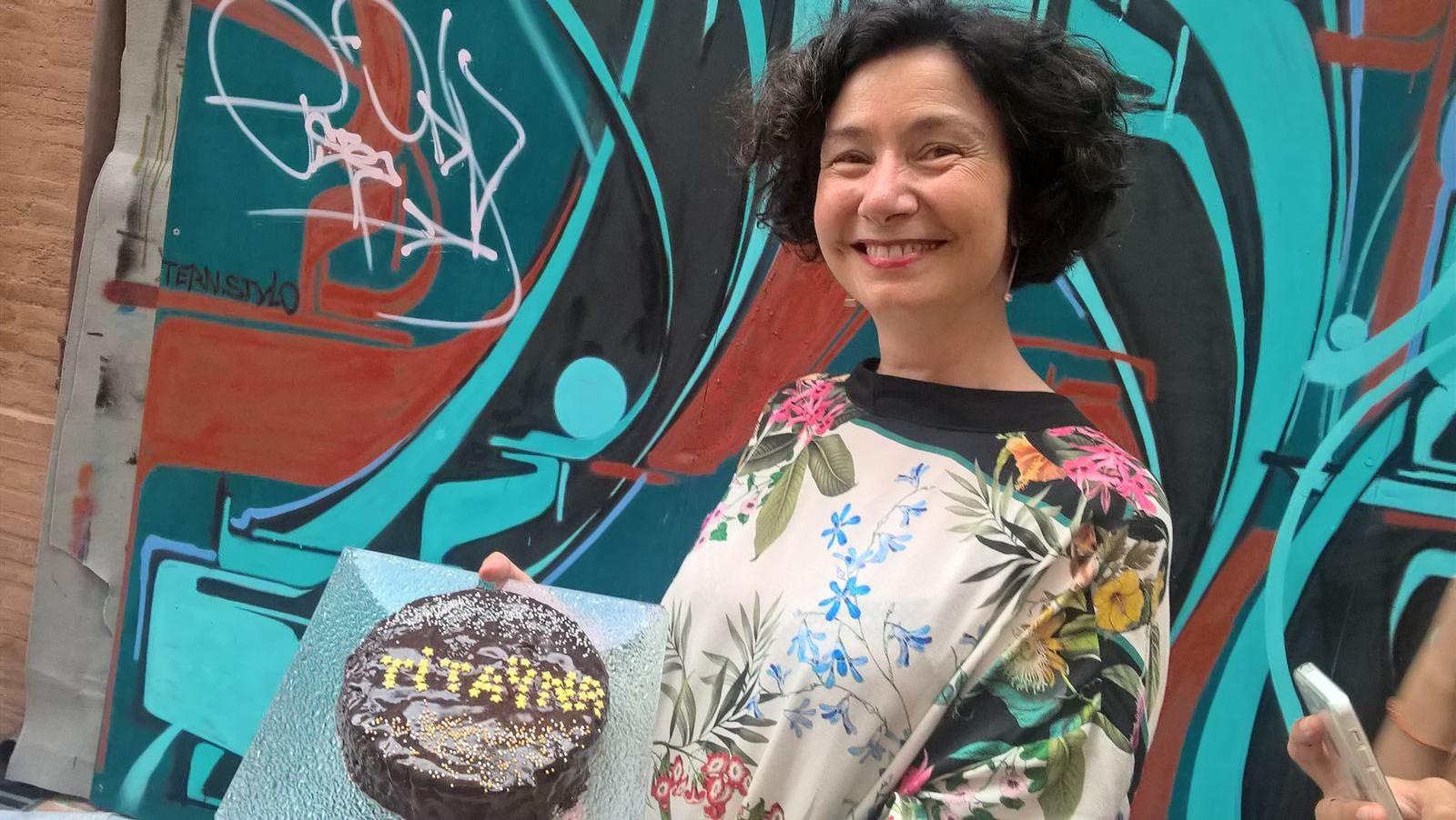 une prof porteuse et conceptrice de projets culturels gratifiée par ses élèves.