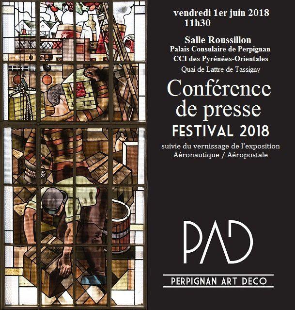 Conférence de presse PAD au Palais Consulaire (CCI des Pyrénées-Orientales) 1er juin 2018