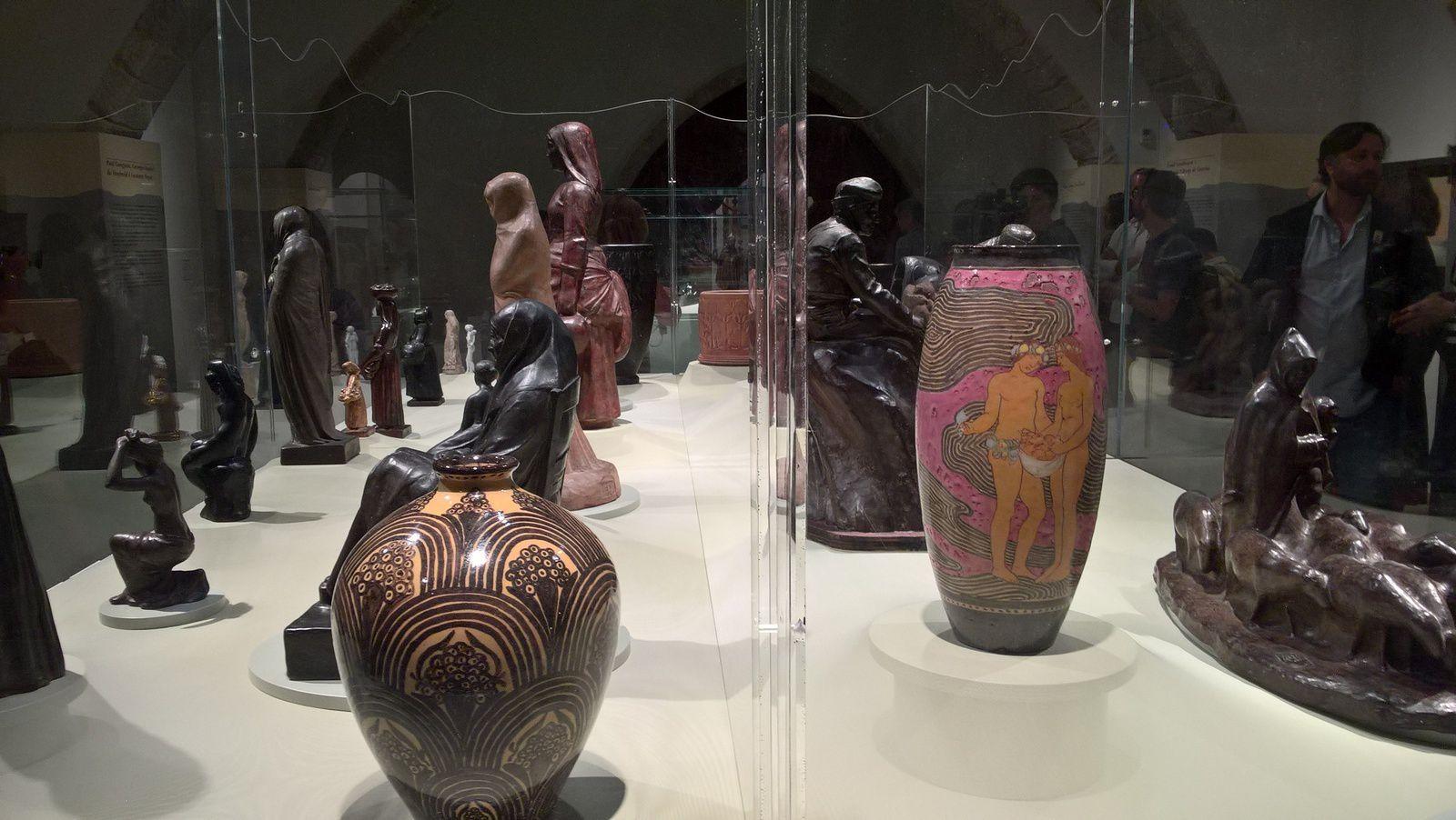Visite Expo Gustave Violet à Sitges 6 juillet 2018