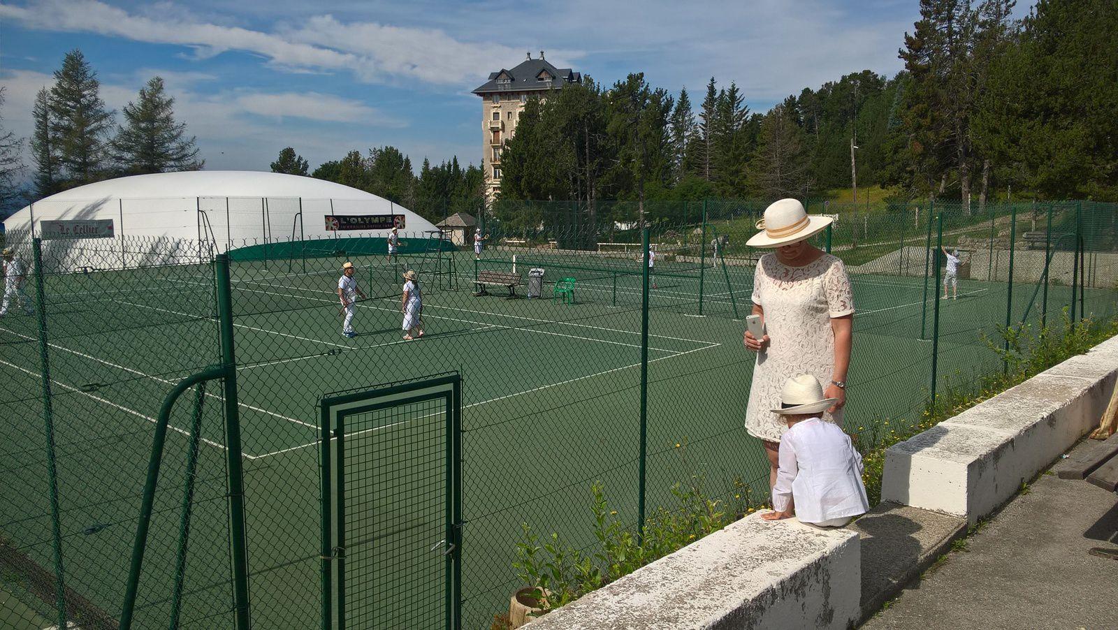 Club de Tennis de Font-Romeu pour les Journées Art Déco de Font-Romeu