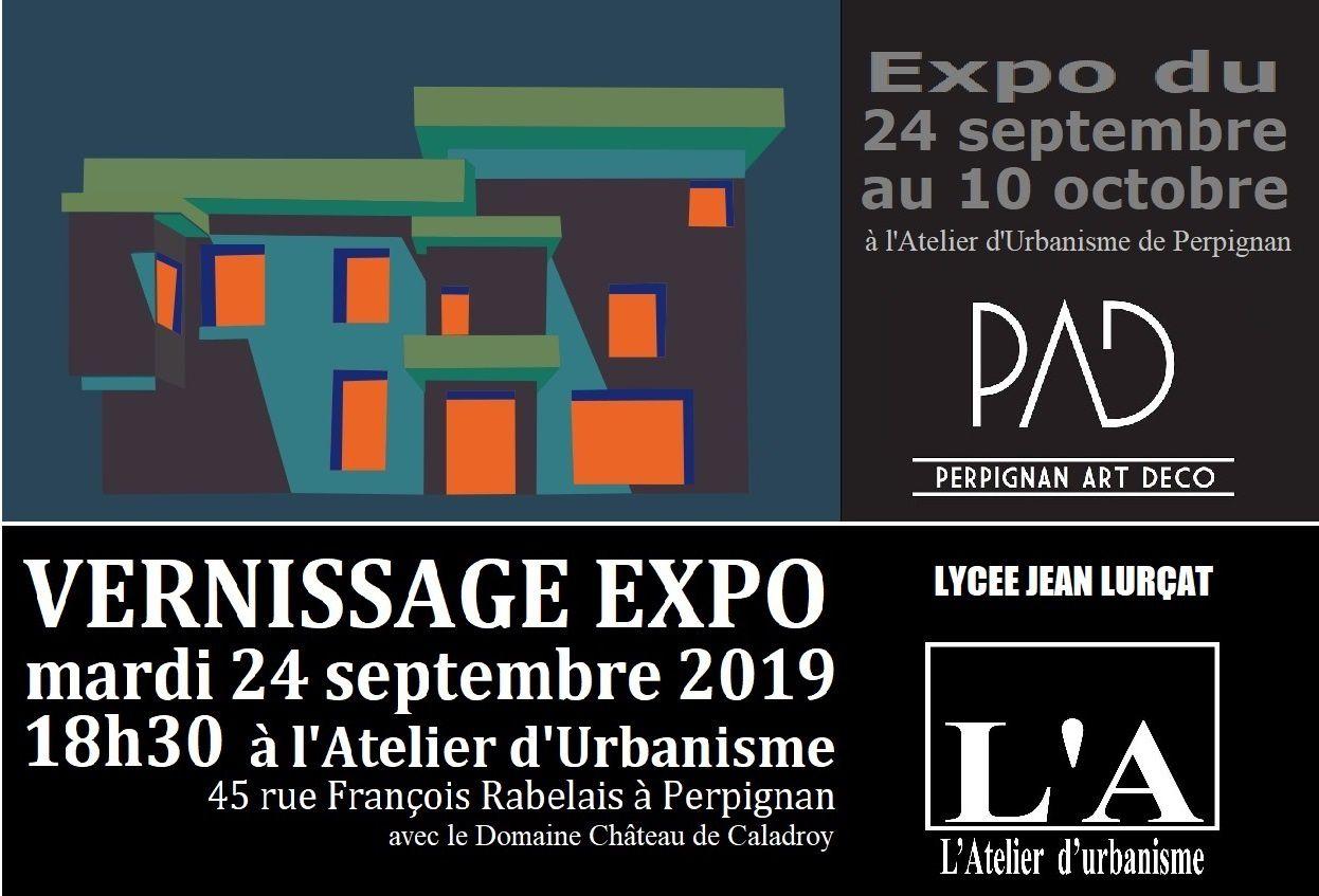 Expo Perpignan Pop' Art Déco à L'Atelier d'Urbanisme