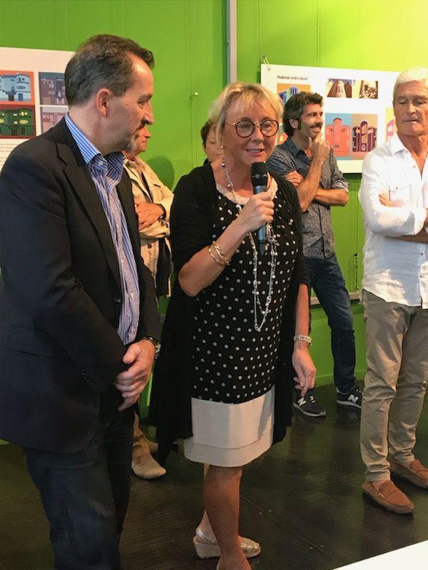 Discours de Chantal Gombert élue du Quartier Gare pour la Mairie de Perpignan.