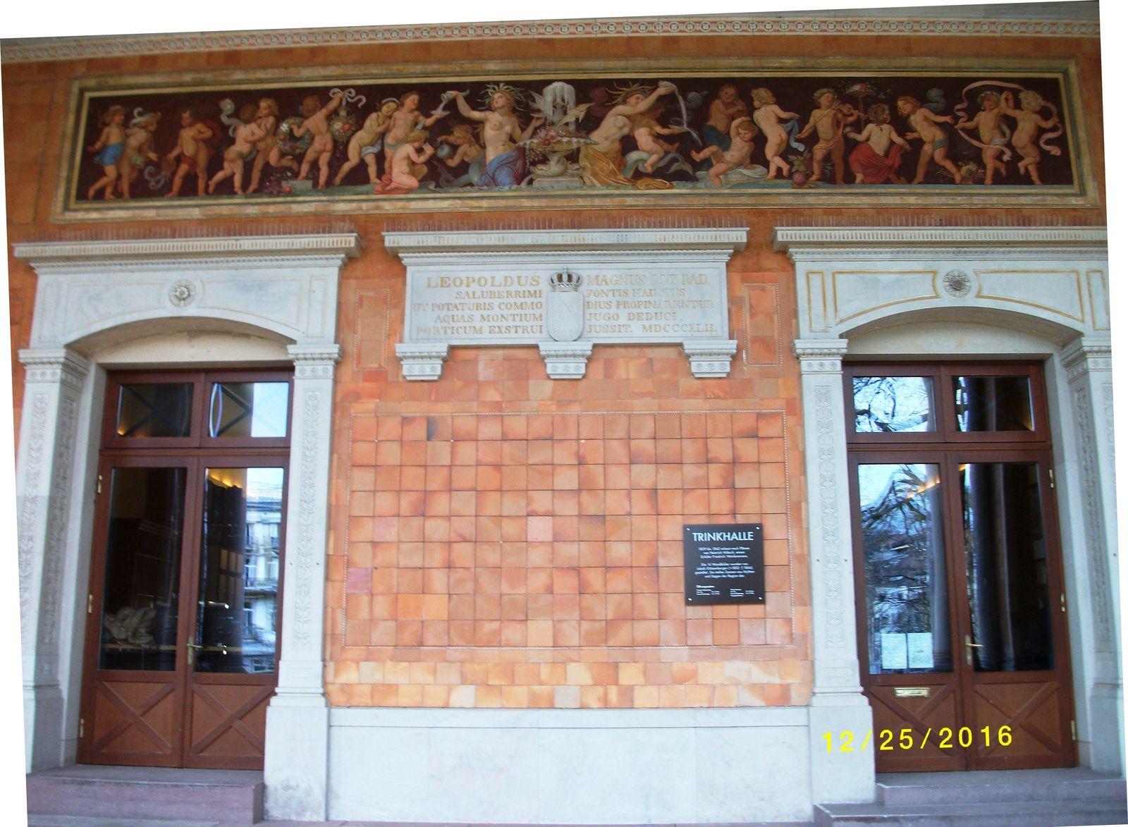 """Leopoldus Trinkhalle, In&Out - Baden-Baden, décembre 2016"