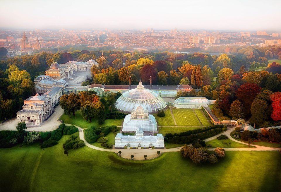 Les serres de Laeken - Magnifique joyau National