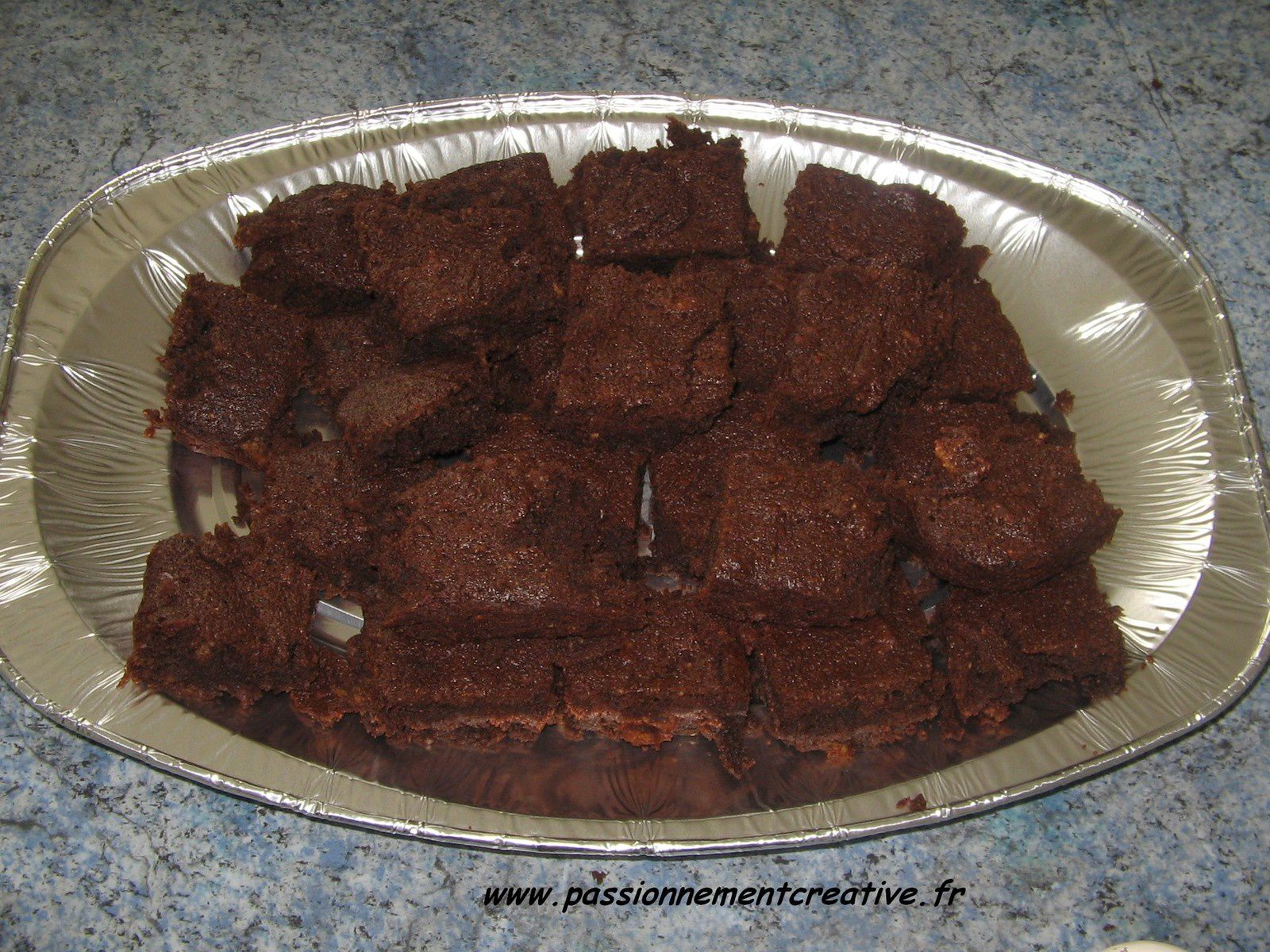 Brownie aux corn flakes