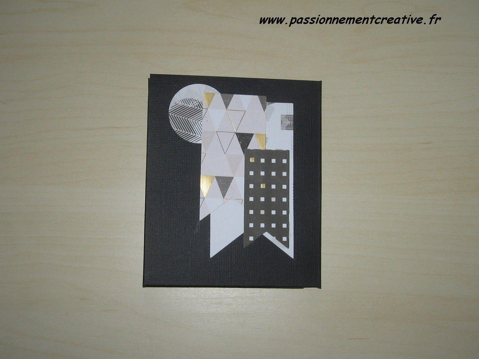 Mini album en scrap