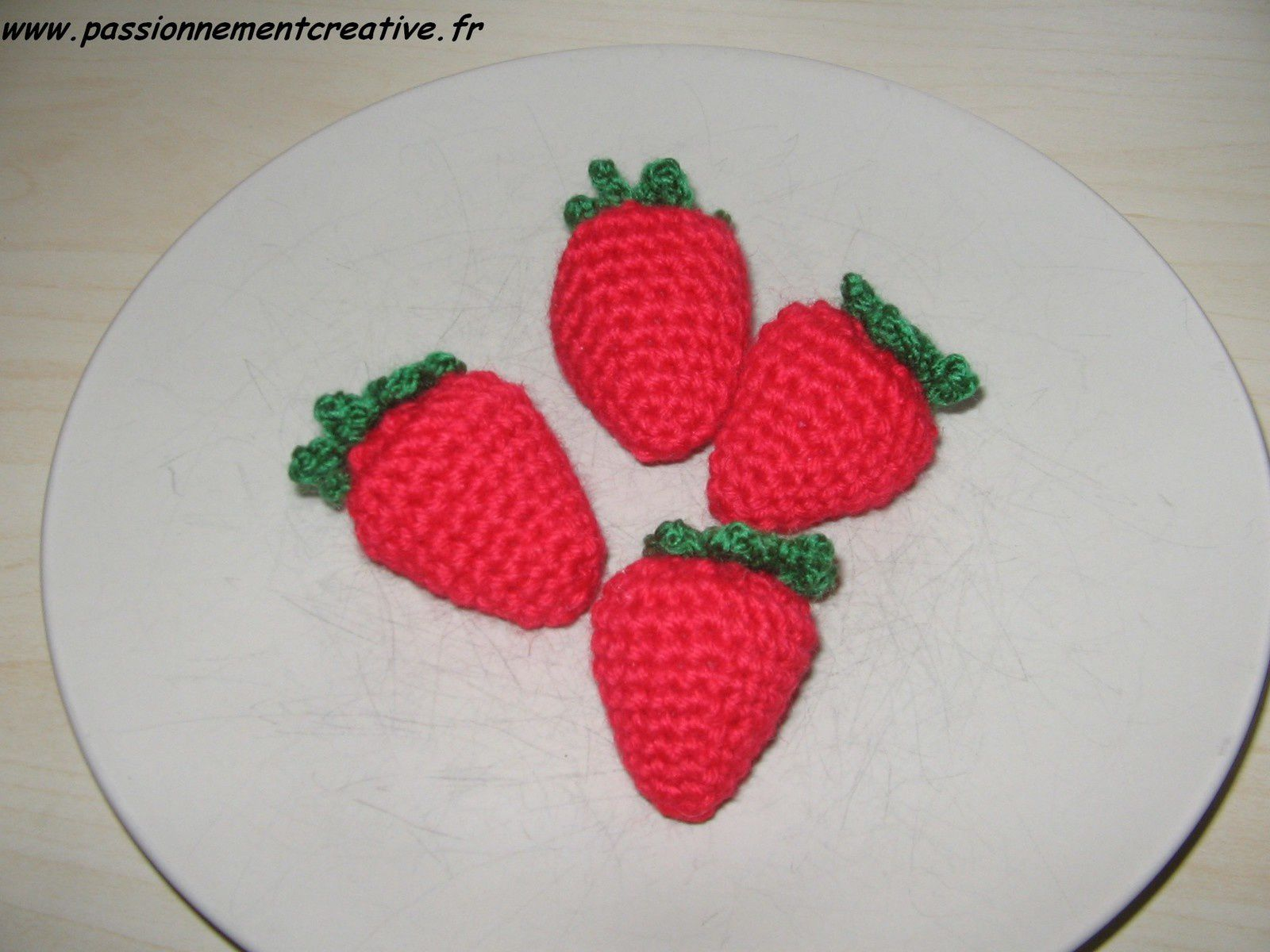 Des fruits au crochet