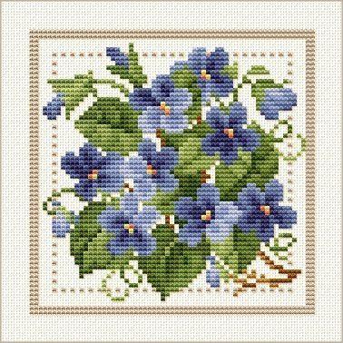 Tutoriel broderie - Fleur de février