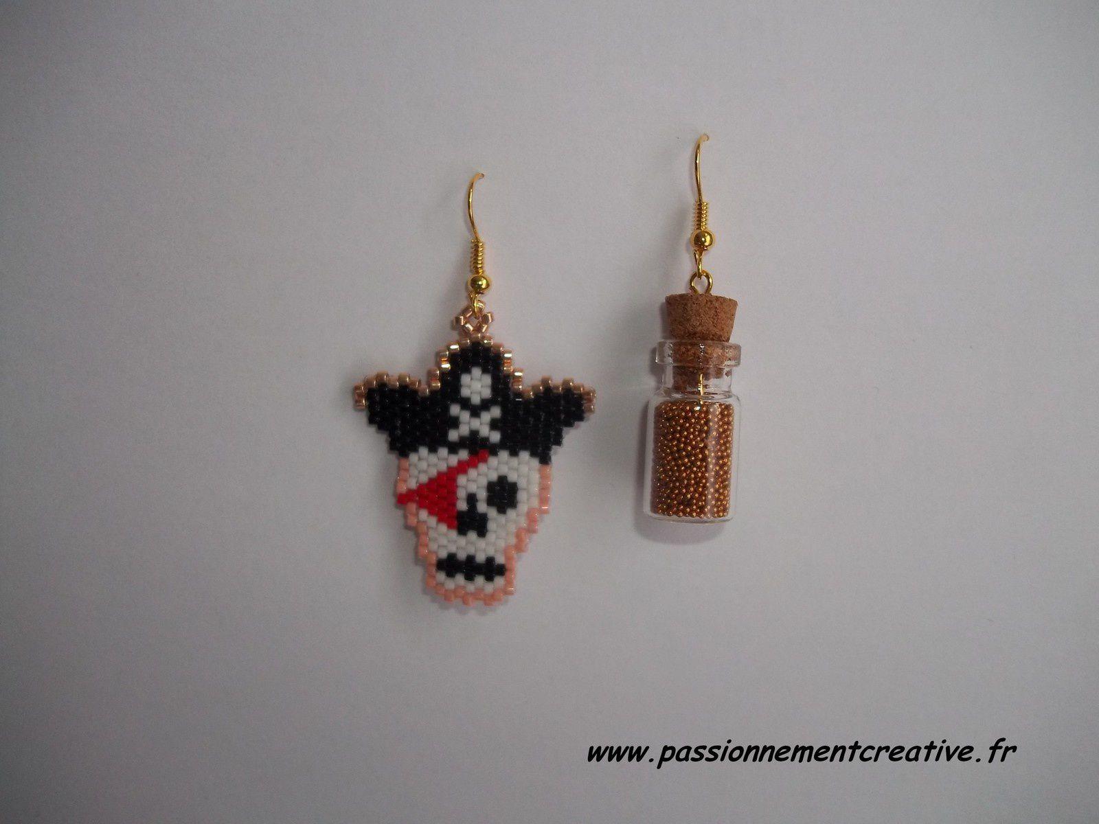 Boucles d'oreilles Pirate