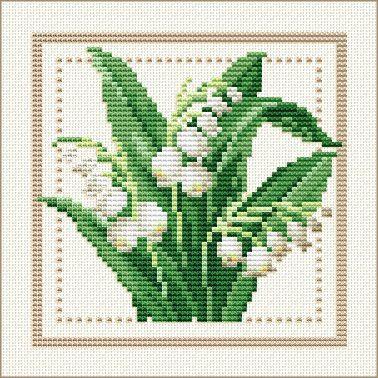 Tutoriel Broderie - Fleurs de Mai 2018