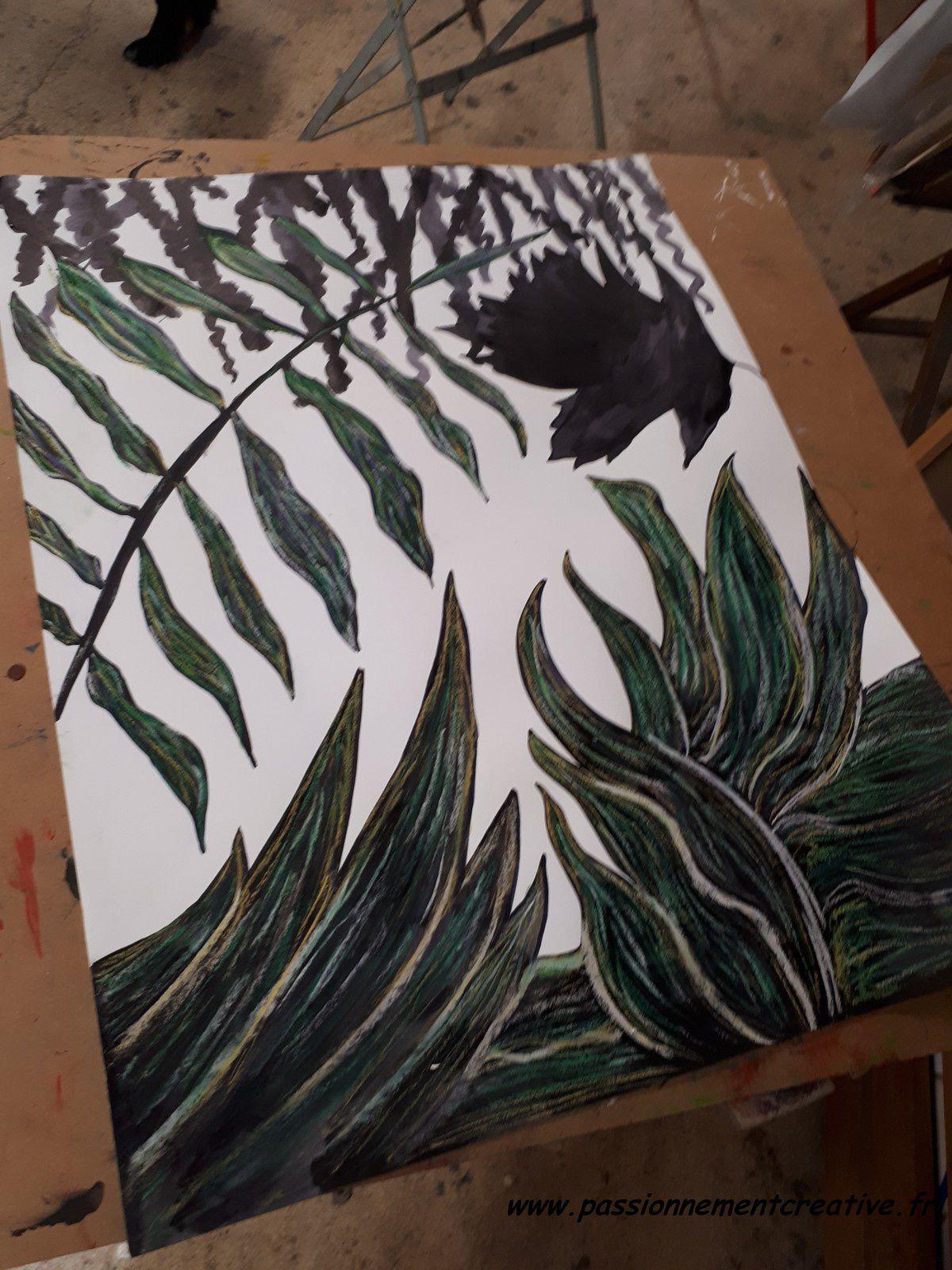 Atelier dessin - en pastel