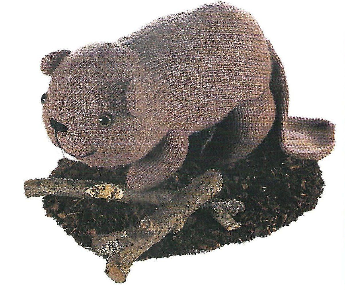 Tutoriel tricot - Un Castor