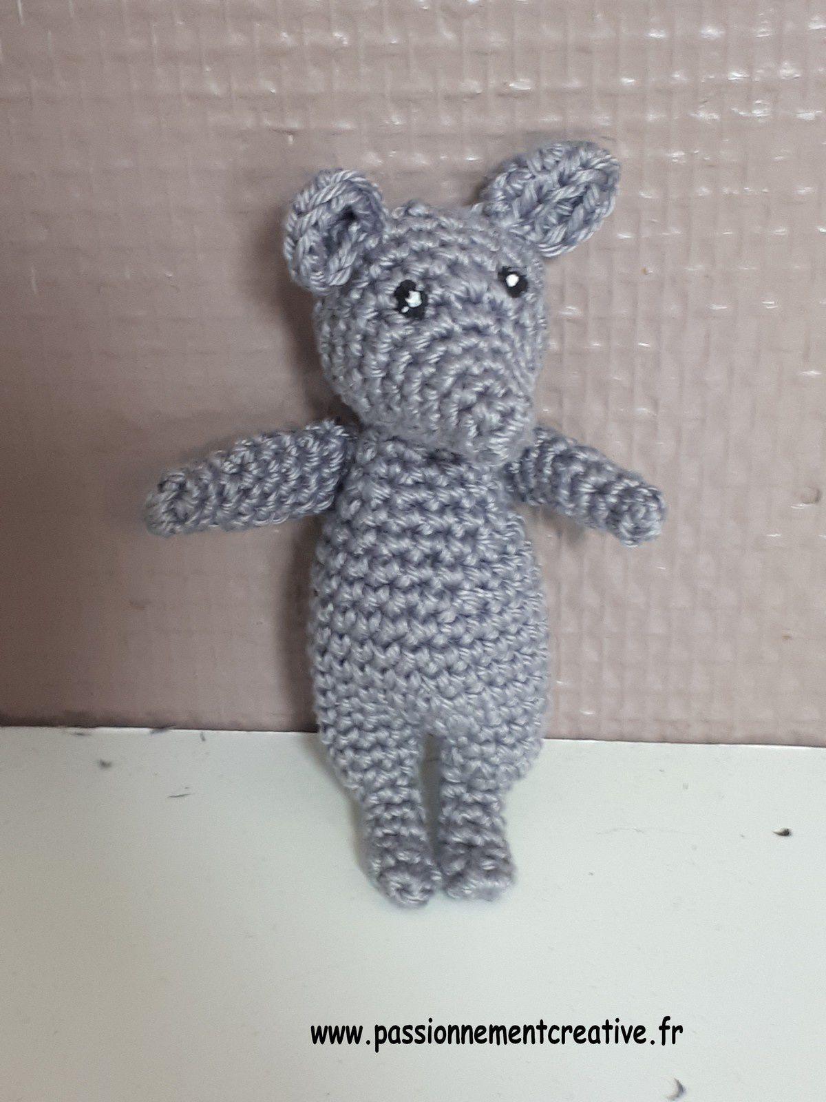 Tutoriel crochet - Des souris