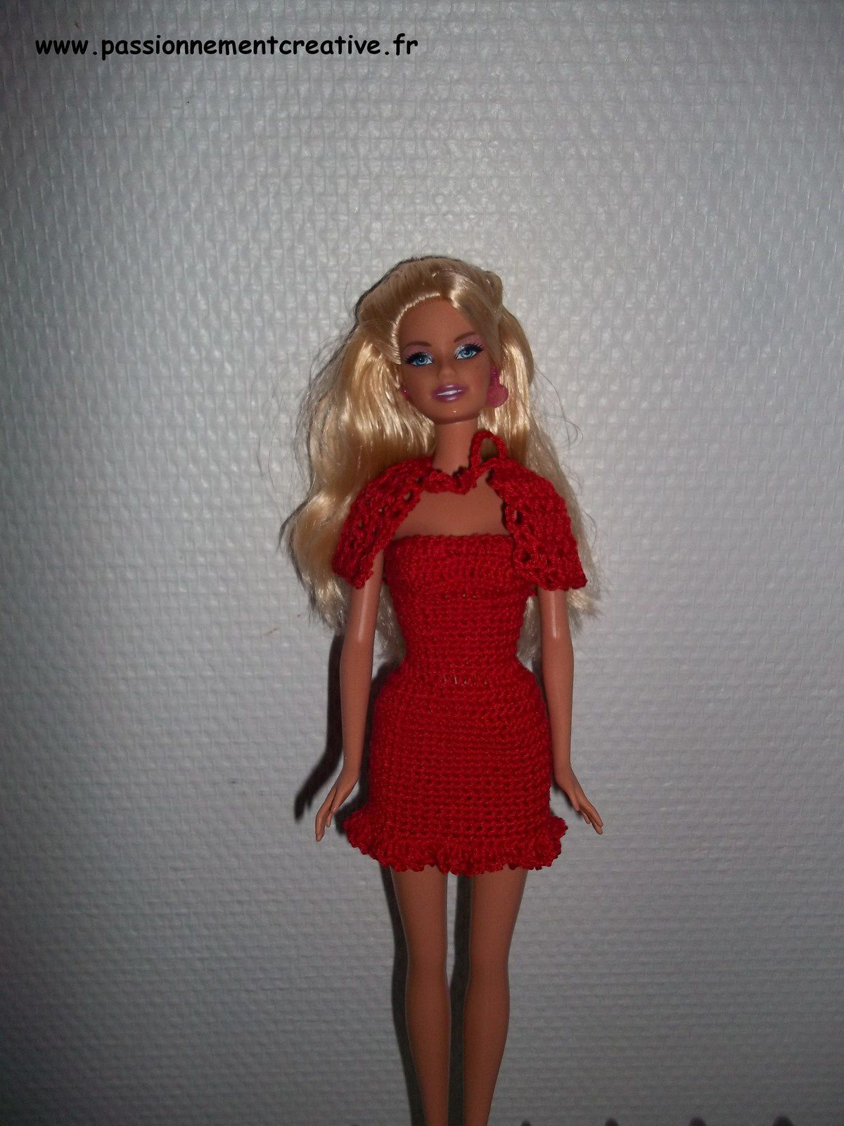 Tutoriel Crochet - Barbie Chaperon rouge