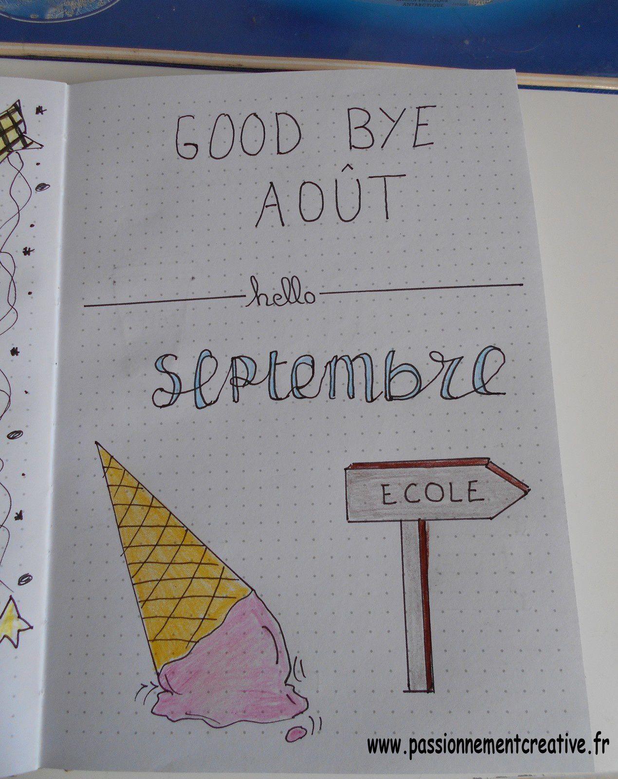 Bujo Septembre 2019