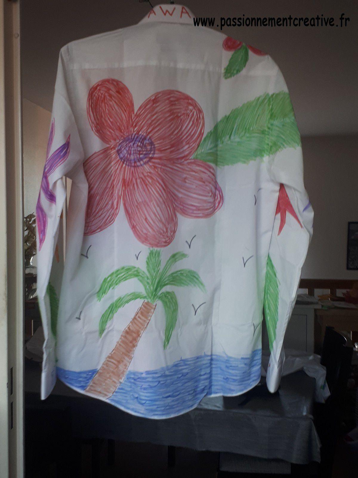 Chemises à fleurs