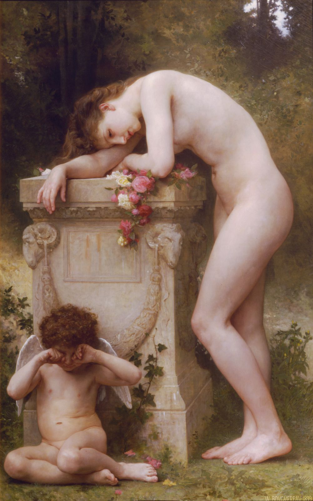 "William A. BOUGUEREAU : ""Elegy"" - 1899"