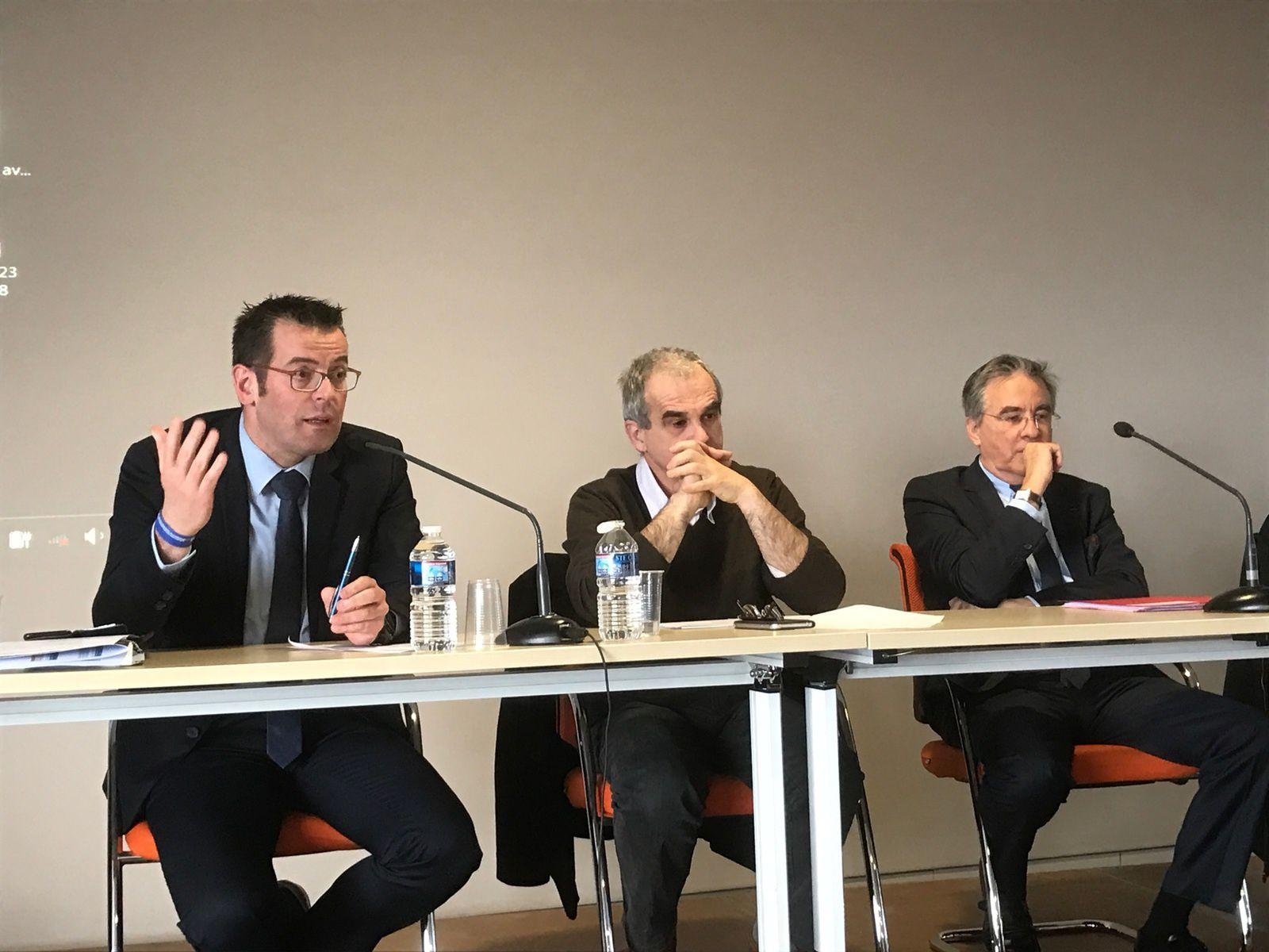 [Aveyron 100% fibre] Présentation de l'opération devant 130 maires