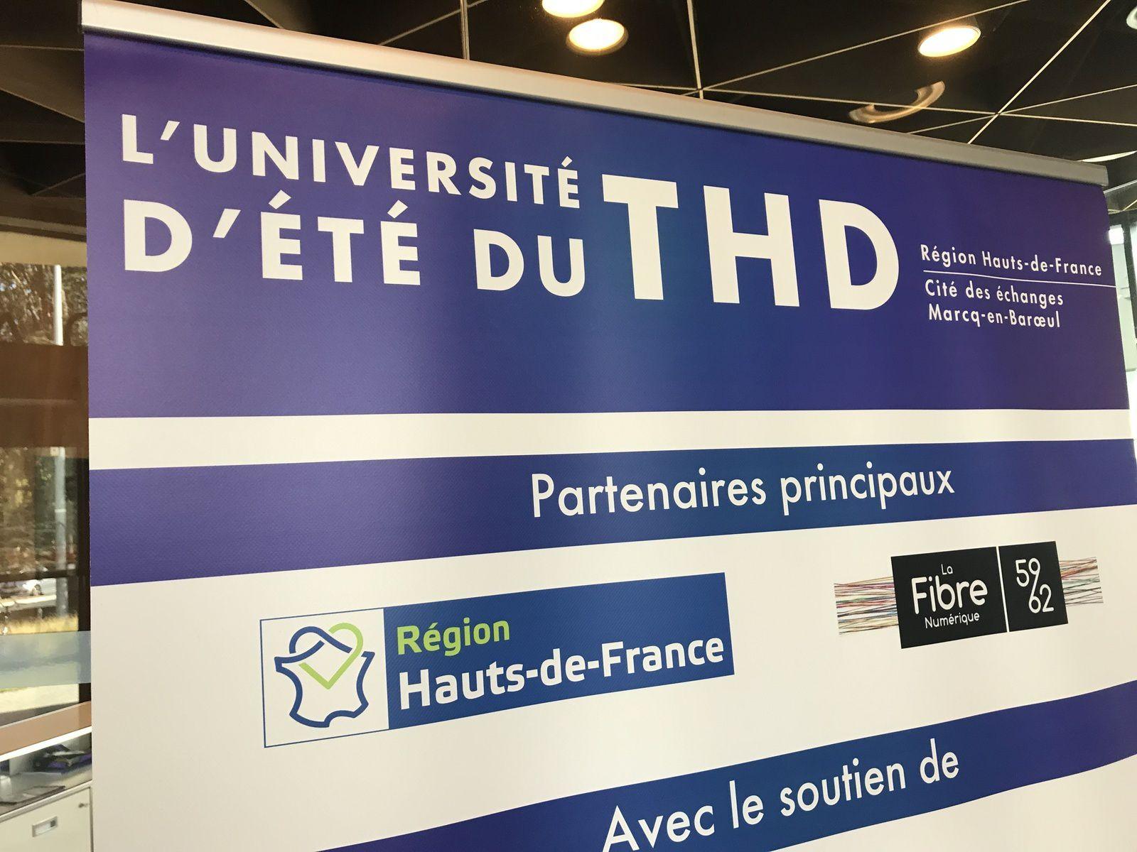 [Très Haut Débit] Le plan fibre pour tous sur 3 départements mis à l'honneur aux universités d'été du THD de Lille