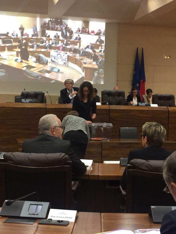 [Département] Dans l'hémicycle, élection du Président du Conseil Départemental : Jean-Claude Luche est élu Président