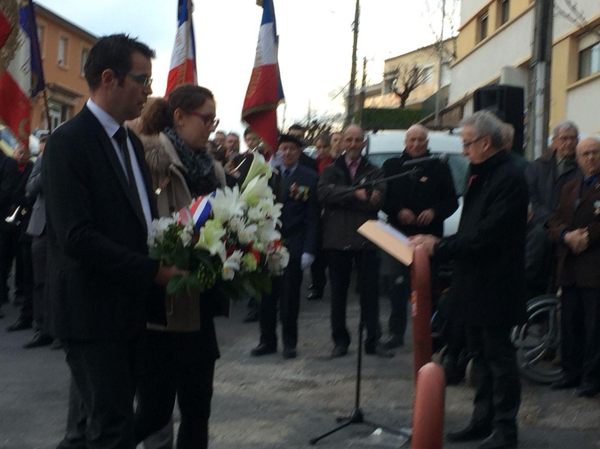 [Cérémonie] Commémoration du cessez-le-feu à Saint-Affrique