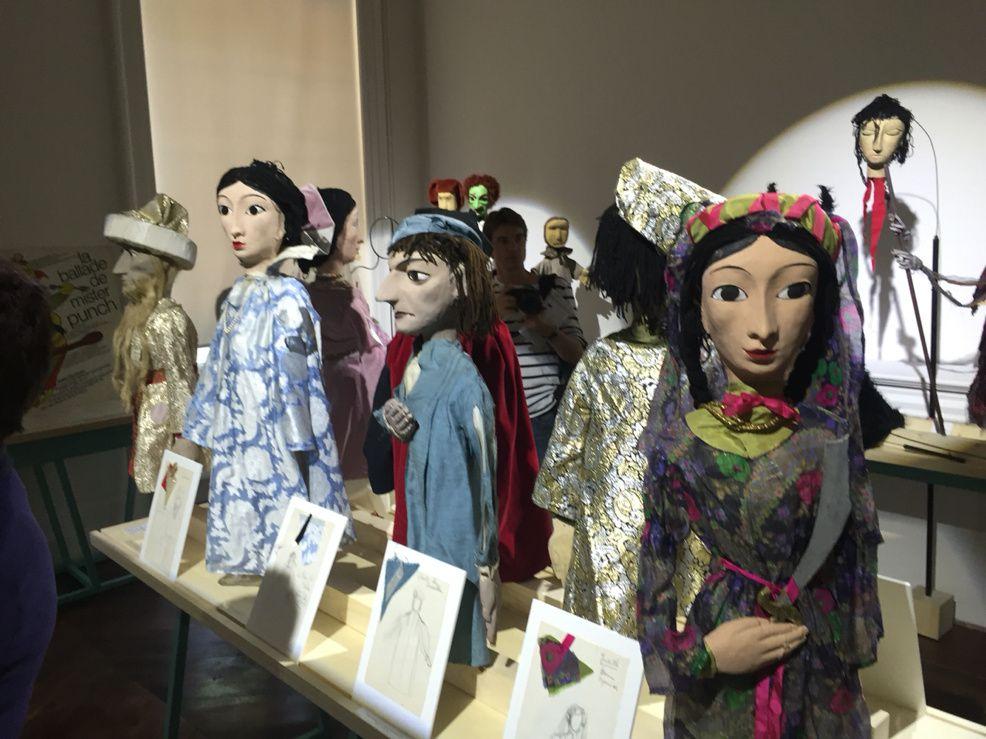 [Marionnettes] Vernissage de l'exposition des marionnettes