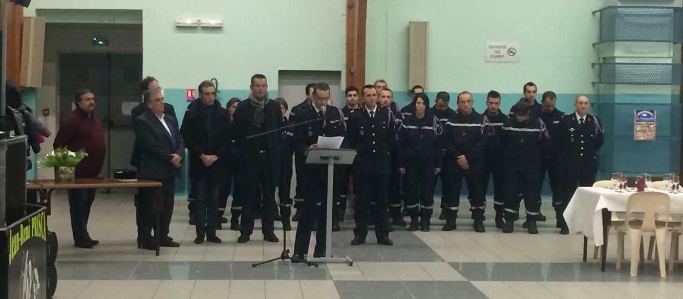 [Sainte-Barbe] Les pompiers à l'honneur à Roquefort