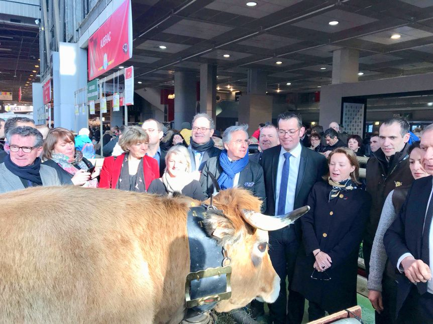 [Agricuture] La filière Aveyron a l'honneur au Salon International de l'Agriculture 2018