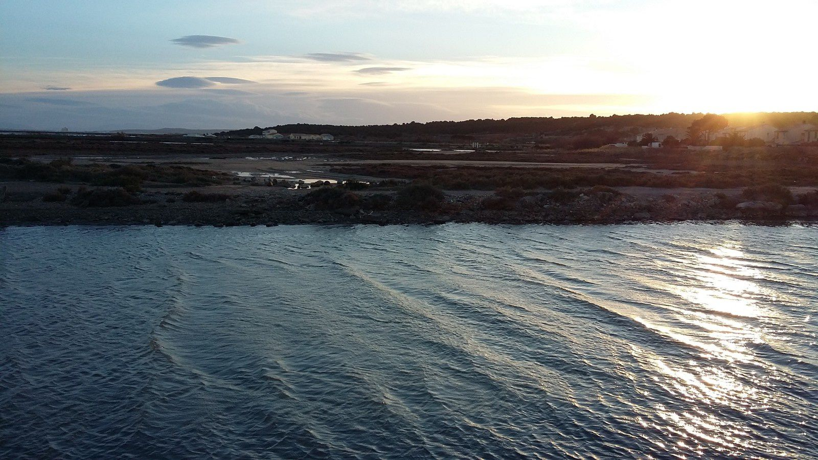 La mer, Gruissan (photo : Marlène Aurangé)