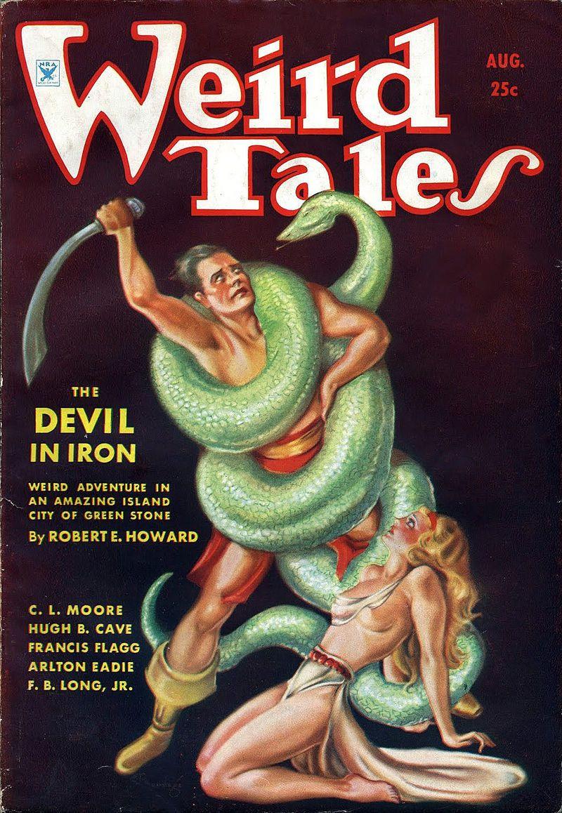 """Un """"pulp"""" Weird Tales"""
