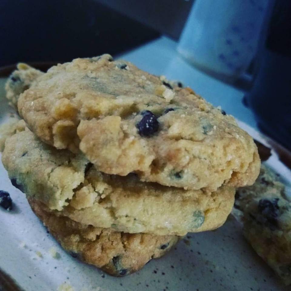 Mes cookies sans gluten aux pépites de chocolat noir équitables .