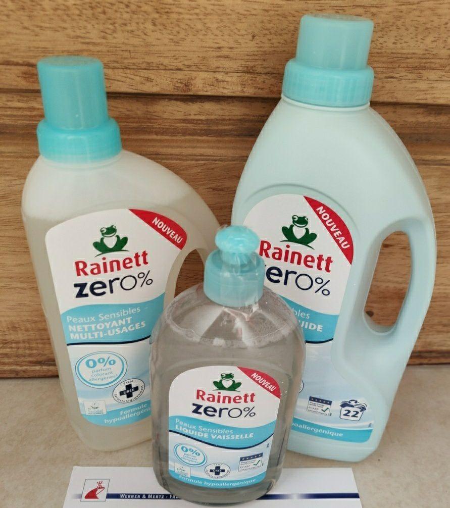 Mon retour sur la lessive Zero% de chez Rainett.