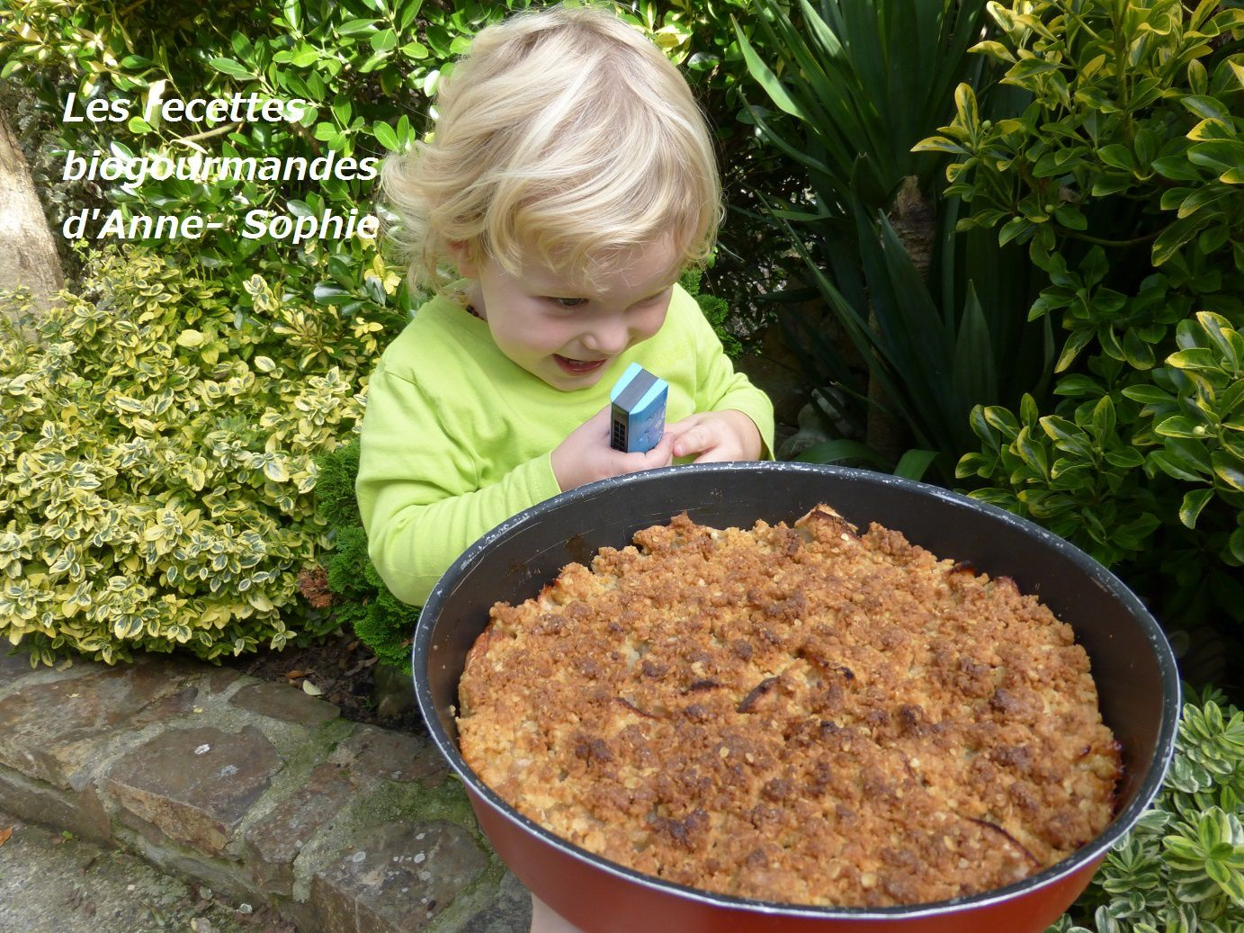 CRUMBLE AUX POMMES VANILLEES ET SPECULOOS