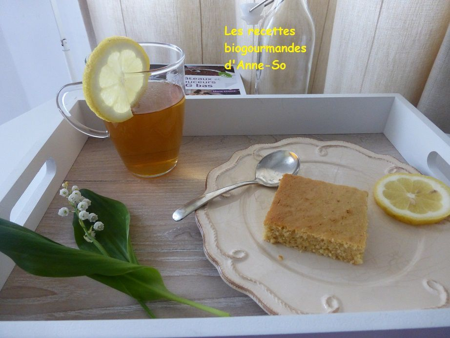 BLONDIES AU CITRON