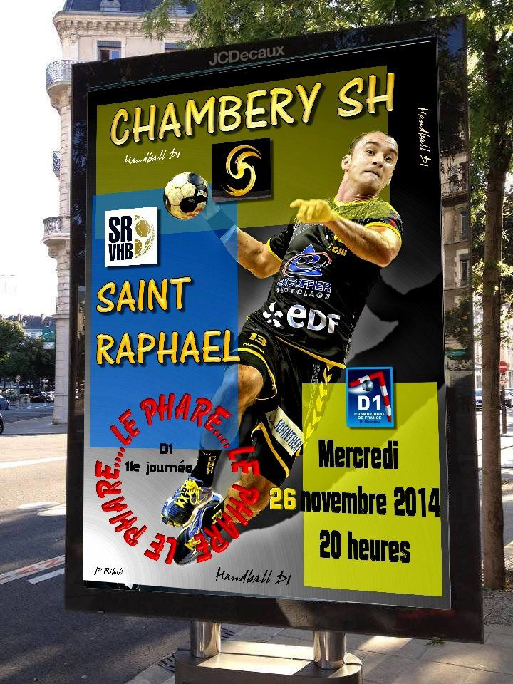 Après CHAMBÉRY / ST-RAPHAËL