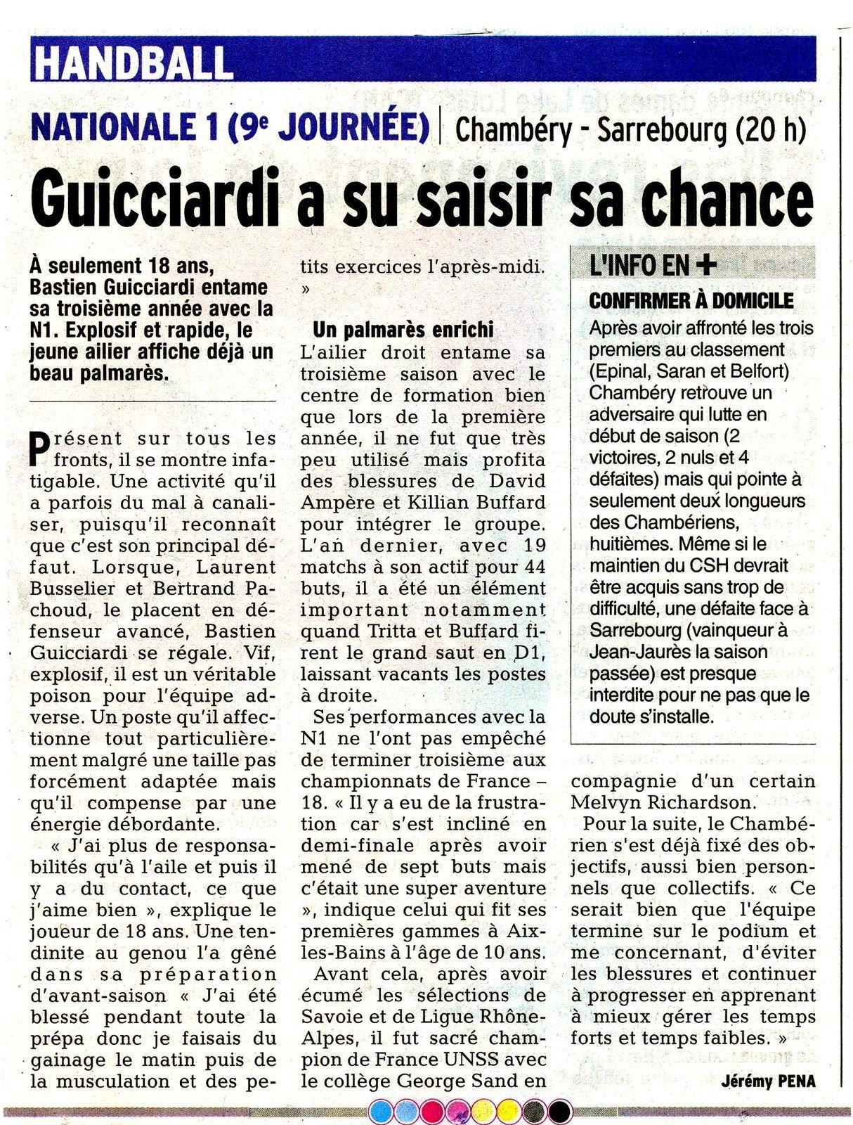 Article Jérémy PENA / Photo : JP Riboli