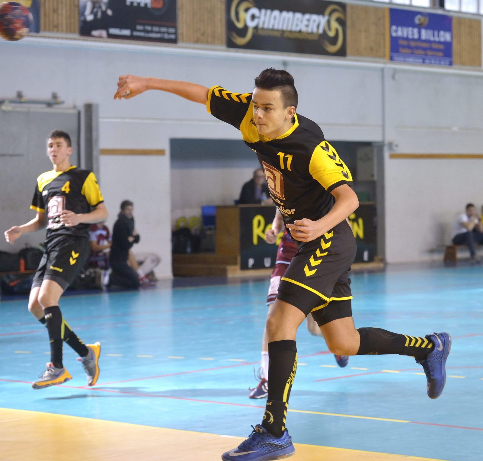 - 15 ligue CHAMBERY assomme Bourgoin dimanche 20 mars 2016